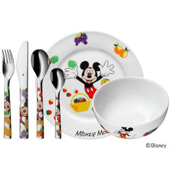 WMF Disney Mickey Mouse Kinderbestek 6-delig